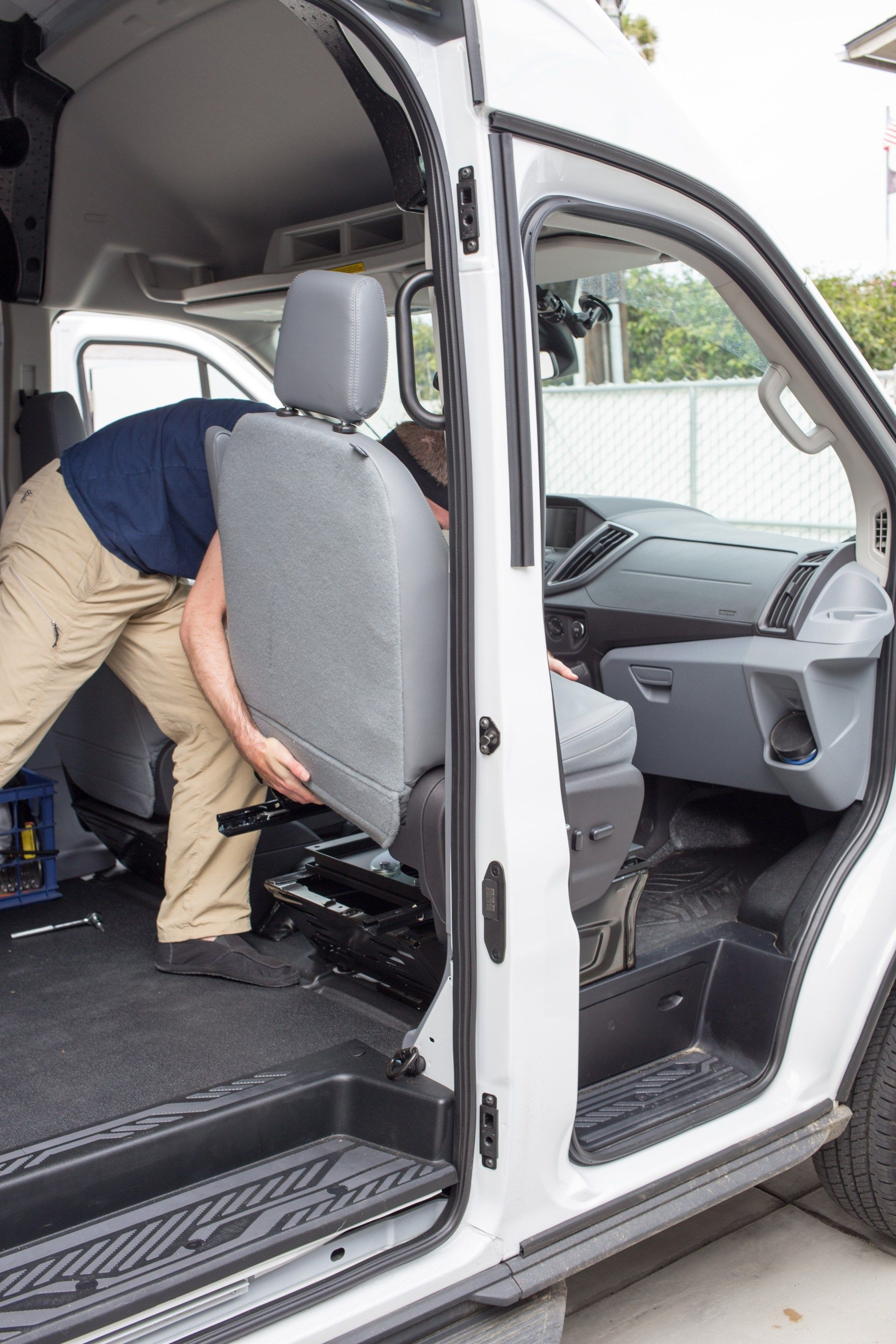 How To Install A Swivel Seat Adapter Swivel Seating Seating Camper Van Conversion Diy