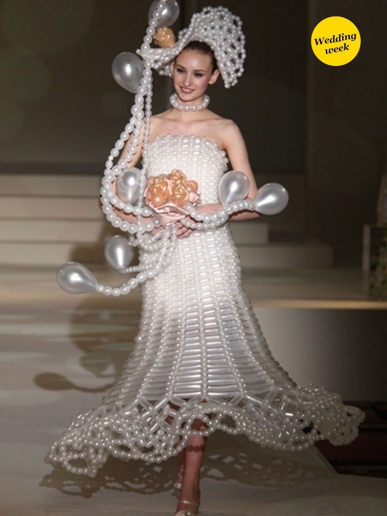 10 robes de mariée insolites