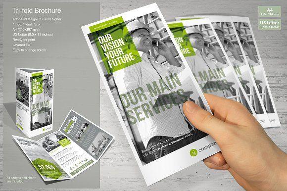 Tri Fold Brochure Tri Fold Brochure Brochures And Brochure Template