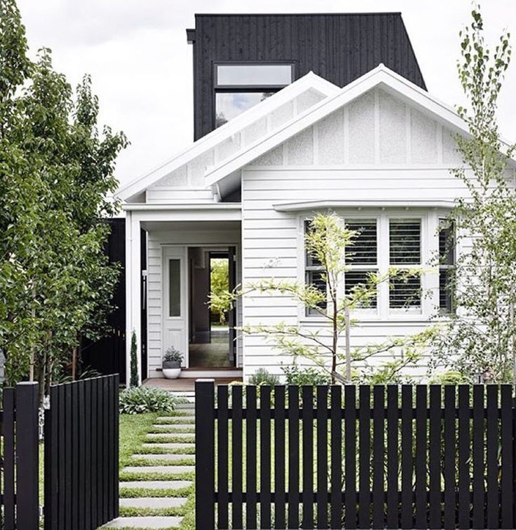 Pin by genalin more on fence weatherboard house facade - Modern weatherboard home designs ...