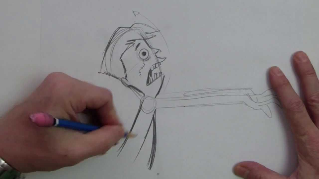 Zombie Face Line Drawing : How to draw a zombie cartoon drawing pinterest