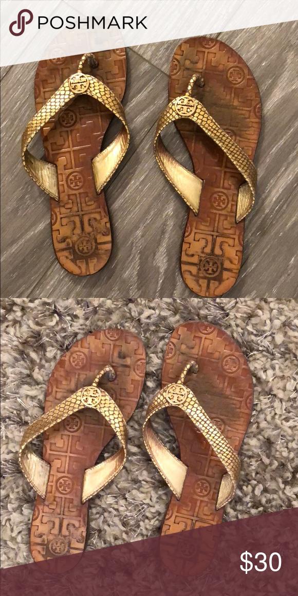 f30a1e88d41 Tory Burch Sandals Tory Burch gold sandals Tory Burch Shoes Sandals