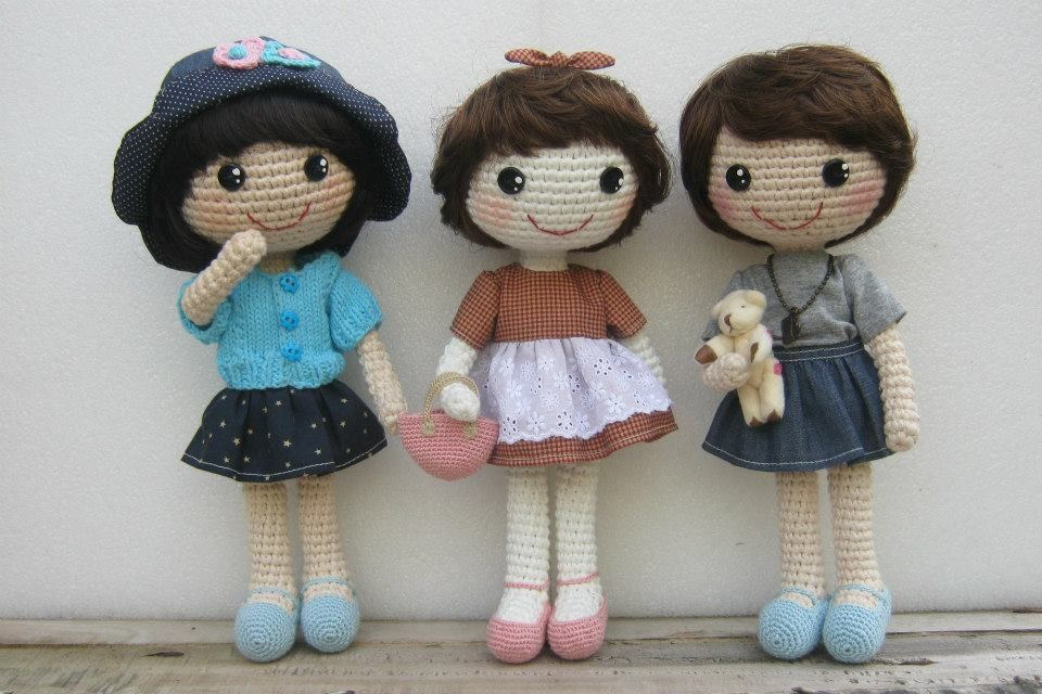 Amigurumi Boneka : Muñecas de ganchillo amigurumi boneka rajutan