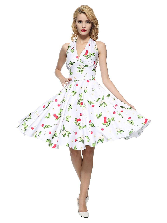 Women S 1950s Vintage Rockabilly Dress White Cherry Cx12gws93t9 Vintage Rockabilly Dress Rockabilly Dress Vintage 1950s Dresses Parties [ 1500 x 1125 Pixel ]