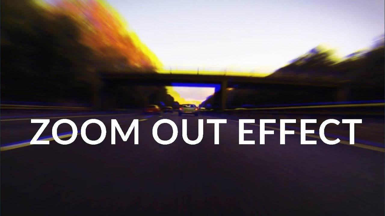 How To Make Smooth Zoom Out Transition Effects In Filmora 9