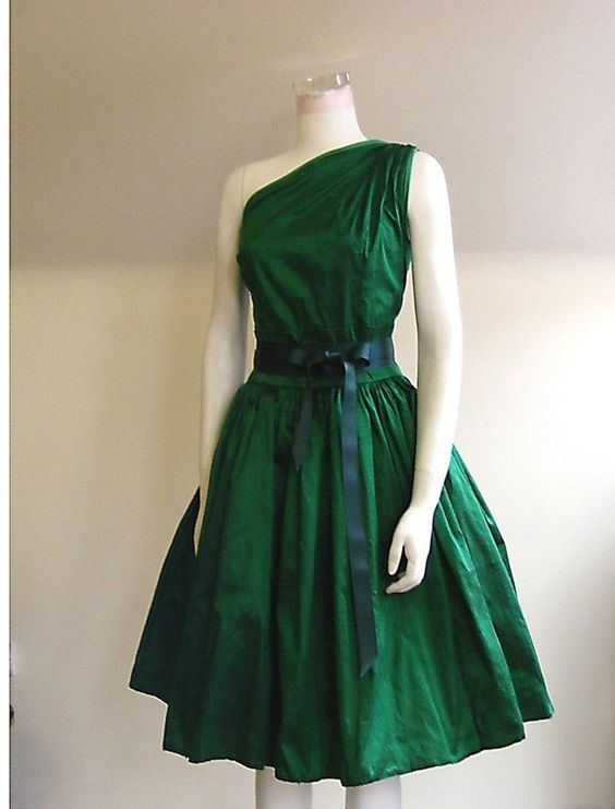 Color Only Green Cocktail Dresses