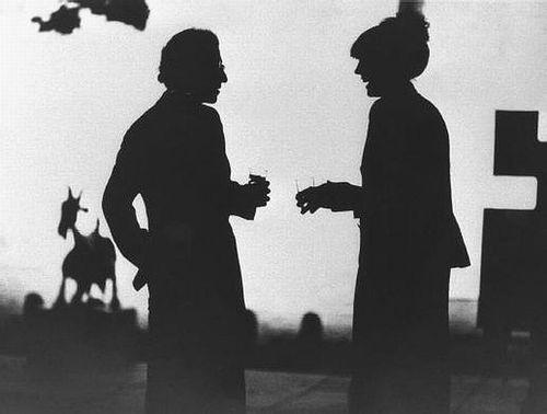 Manhattan, 1979.    Woody Allen + Diane Keaton