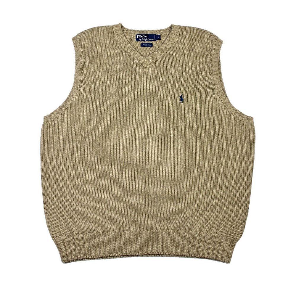 Polo by Ralph Lauren Sweater Vest in Khaki Menswear Mens Size ...