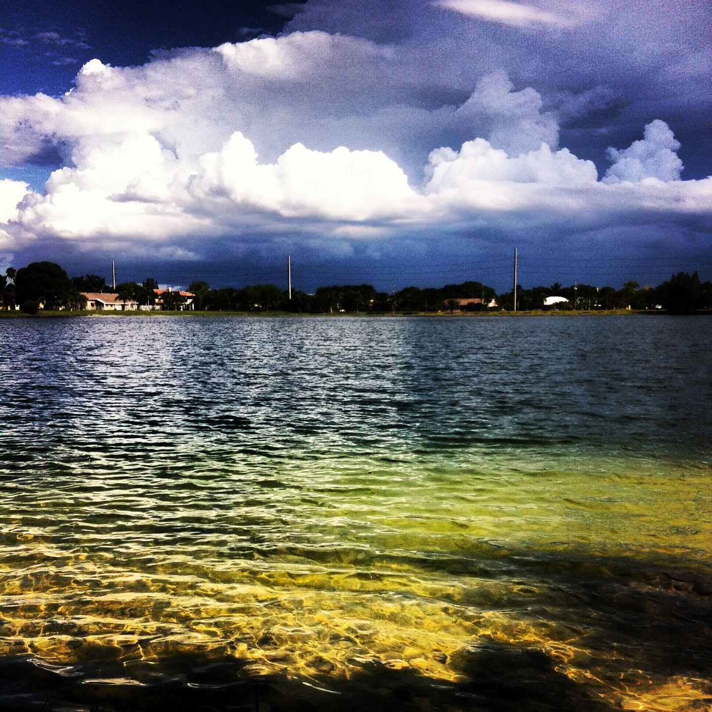 Lake at shenandoah park davie fl los andes