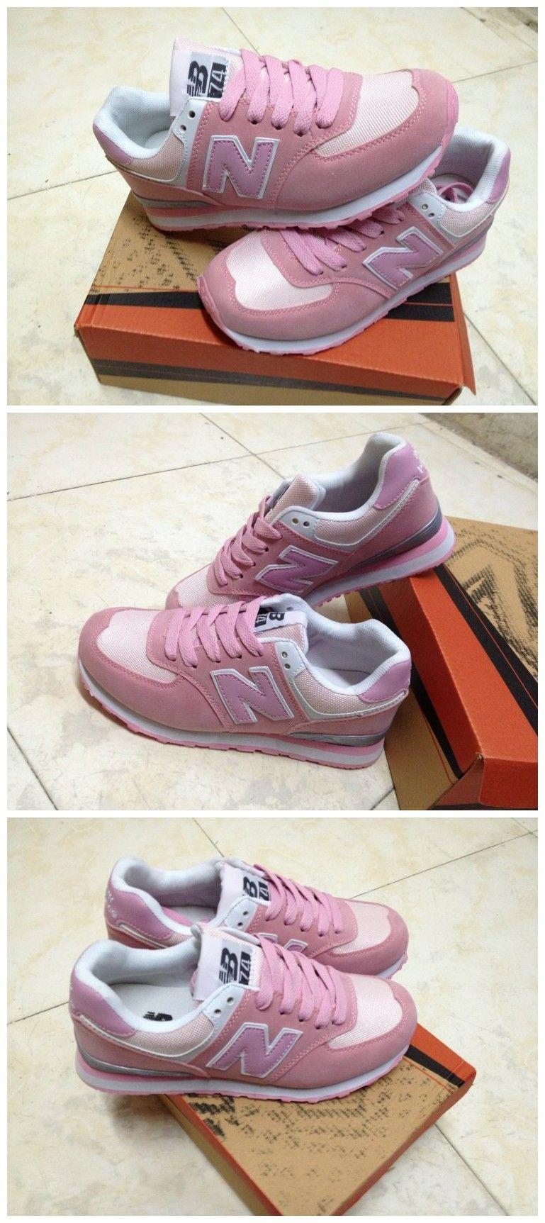 La marca de zapatillas de deporte para mujeres que dirigen carta de color n  de bloque de nb casual deporte a394084657df1