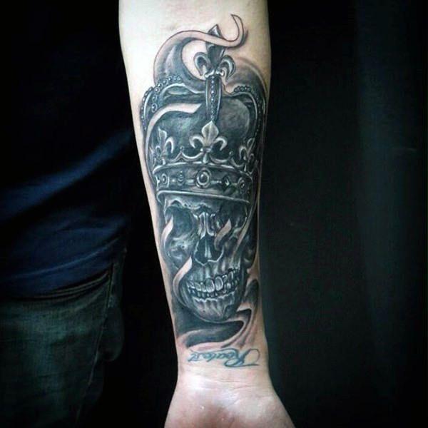 100 Crown Tattoos For Men - Kingly Design Ideas | Tattoos ...