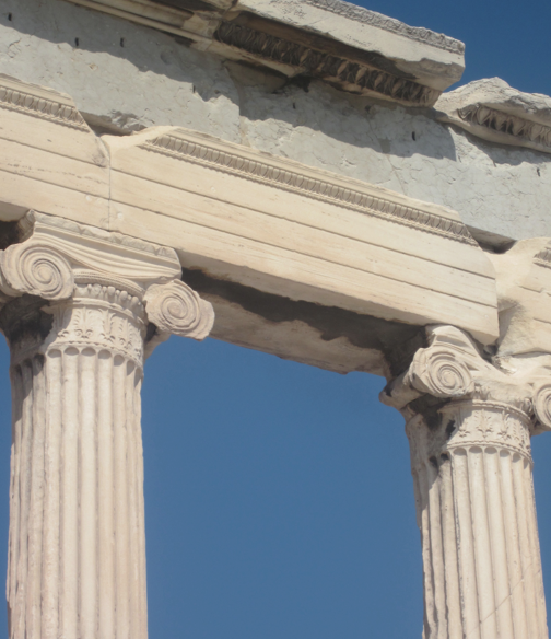 Identify these columns doric ionic or corinthian for Doric columns