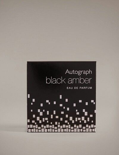 Autograph black amber eau de parfume at Marks and Spencer's #vegan #crueltyfree  #marksandspencers
