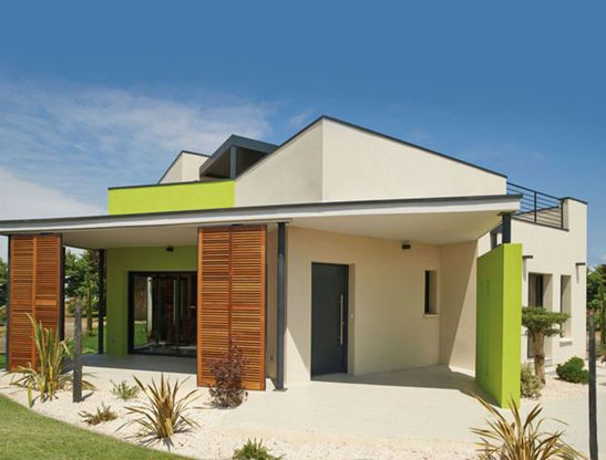 Modèle de maison CHÔRA -  Retrouvez tous les types de maison à - modele de construction maison
