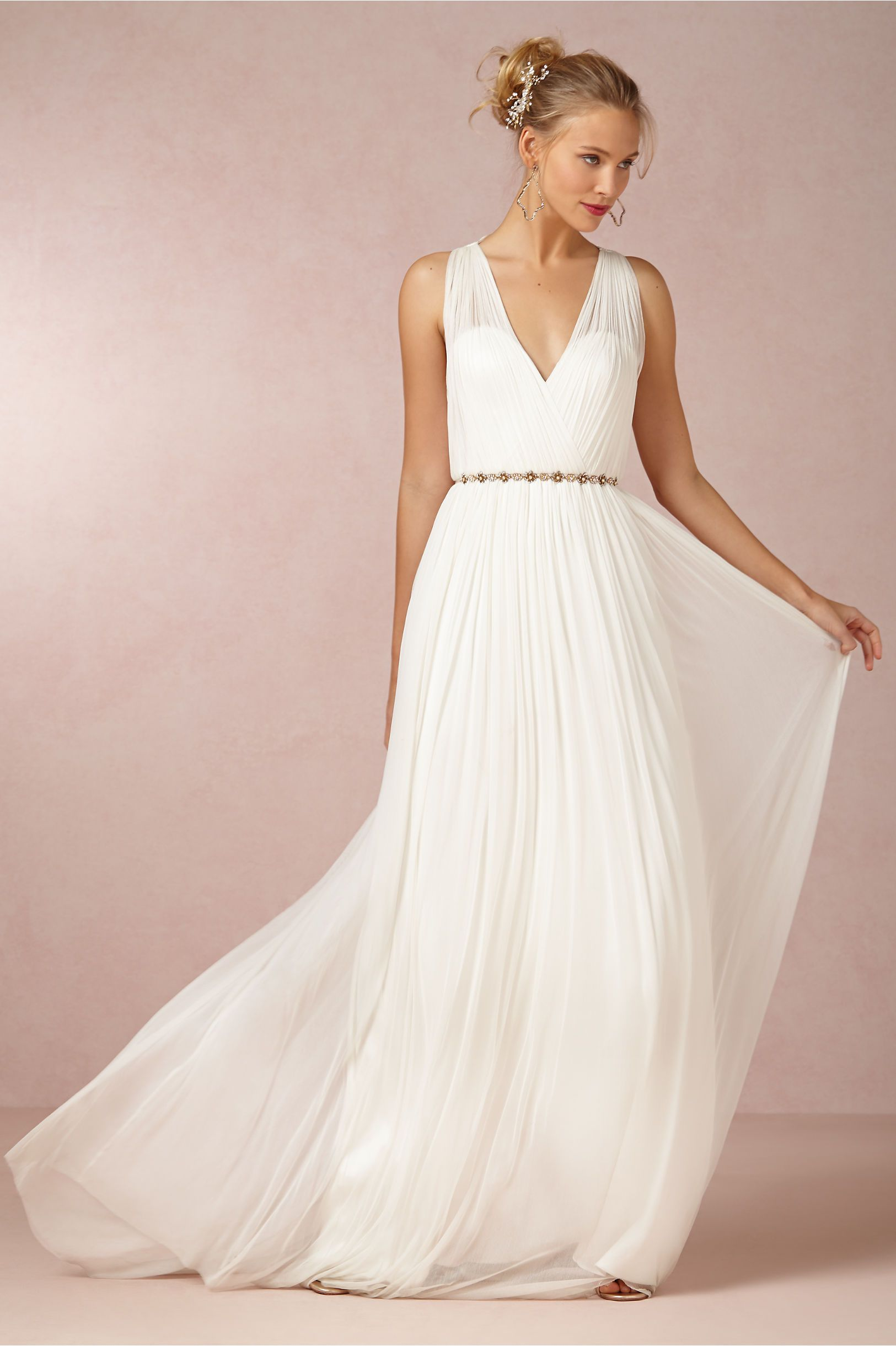 Catherine Deane | Ruth Gown now available at @BHLDN Weddings