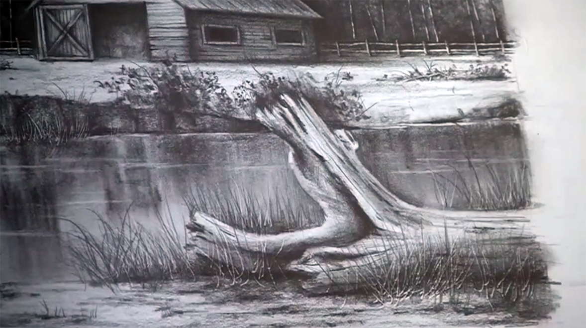 Pencil Drawing Tutorial: How to Draw Wood Grain - Art News ...