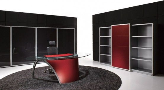 futuristic office desk. Futuristic Office Desk