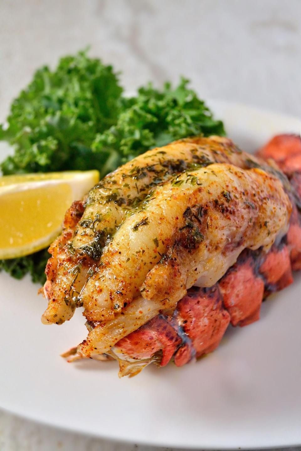 Cajun Lobster Tail - Coop Can Cook #lobstertail