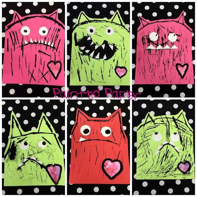 Monster Art Ideas