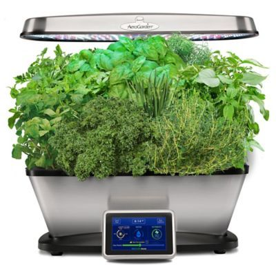 Aerogarden Bounty Elite Home Gardening System In Stainless 400 x 300