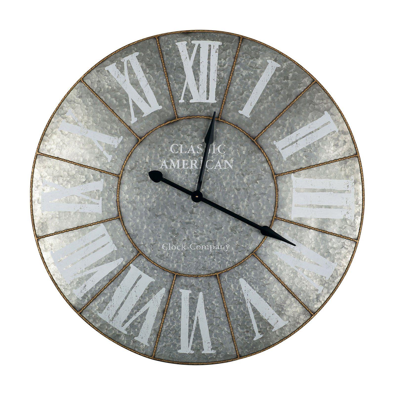 Iron Ii Wall Clock