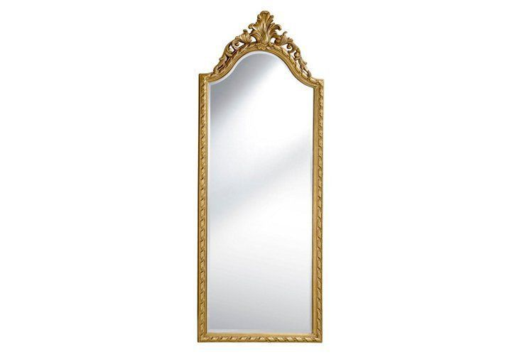 Brownstein Floor Mirror Gold About 2 5 Feet Wide And 6 Tall