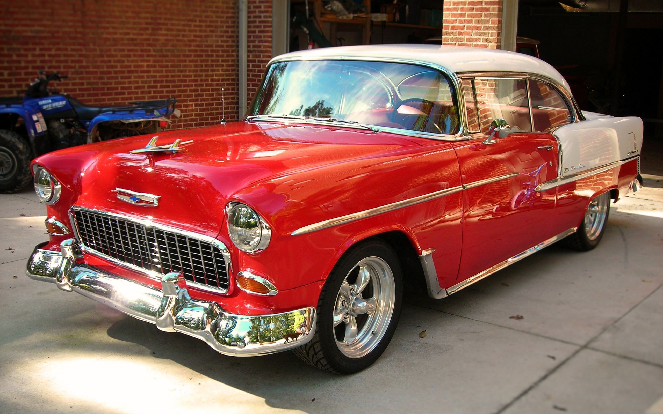 1955 Chevrolet Bel Air - Classic Muscle | Car and Trucks ...