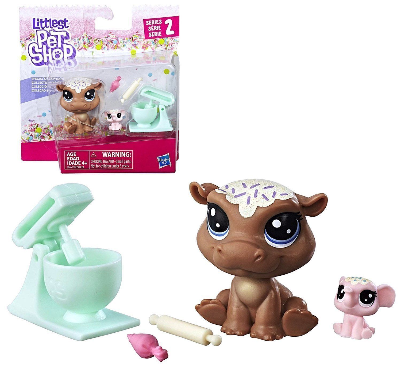 Hippo Elephant Littlest Pet Shop Series 2 Hippomont Elletrunk 46