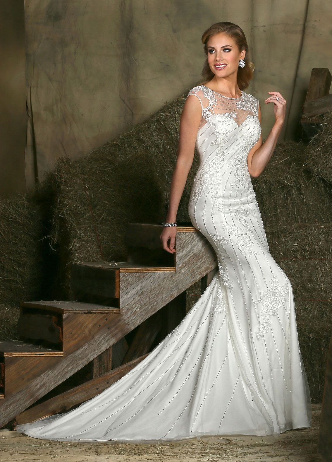 Radiate timeless class and sophistication in davinci bridalus