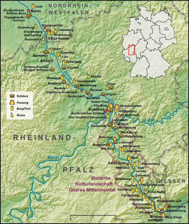 Stolzenfels Mittelrhein