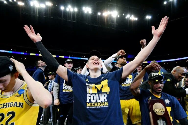 Pin by Eric on Final 4's Michigan Basketball Final four