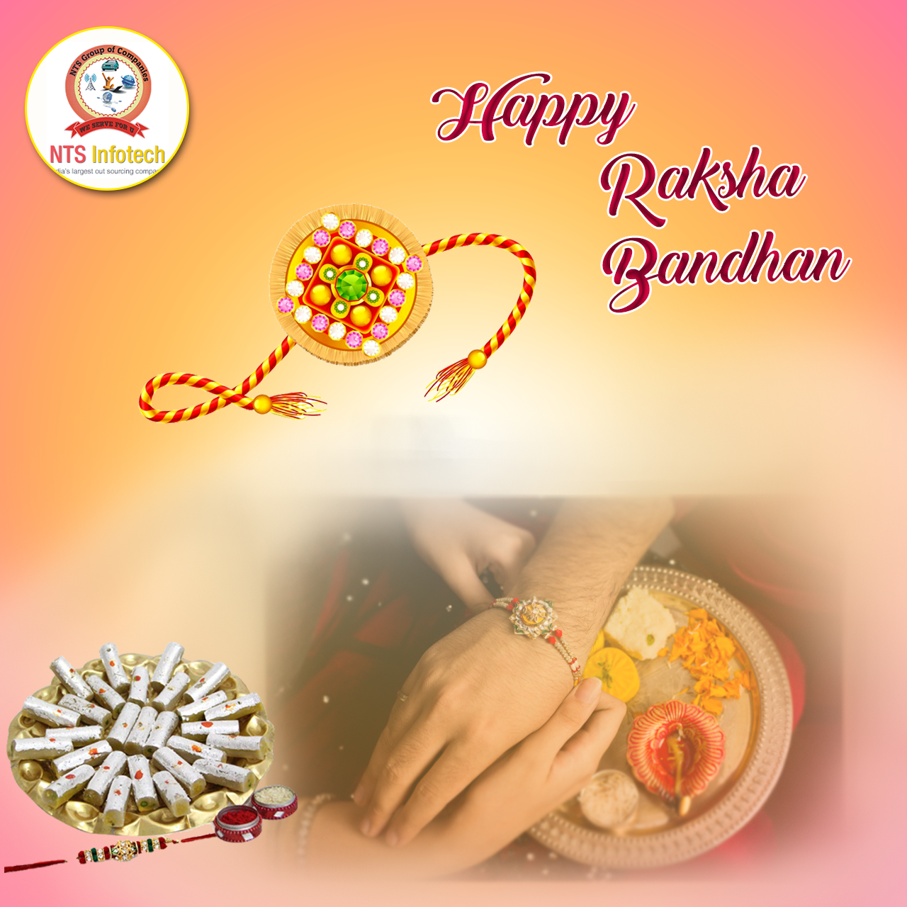 This Raksha Bandhan We Pray To God That Our Bond Of Love Continue To Grow Stronger With Each Passing Year We Happy Rakshabandhan Raksha Bandhan Praying To God