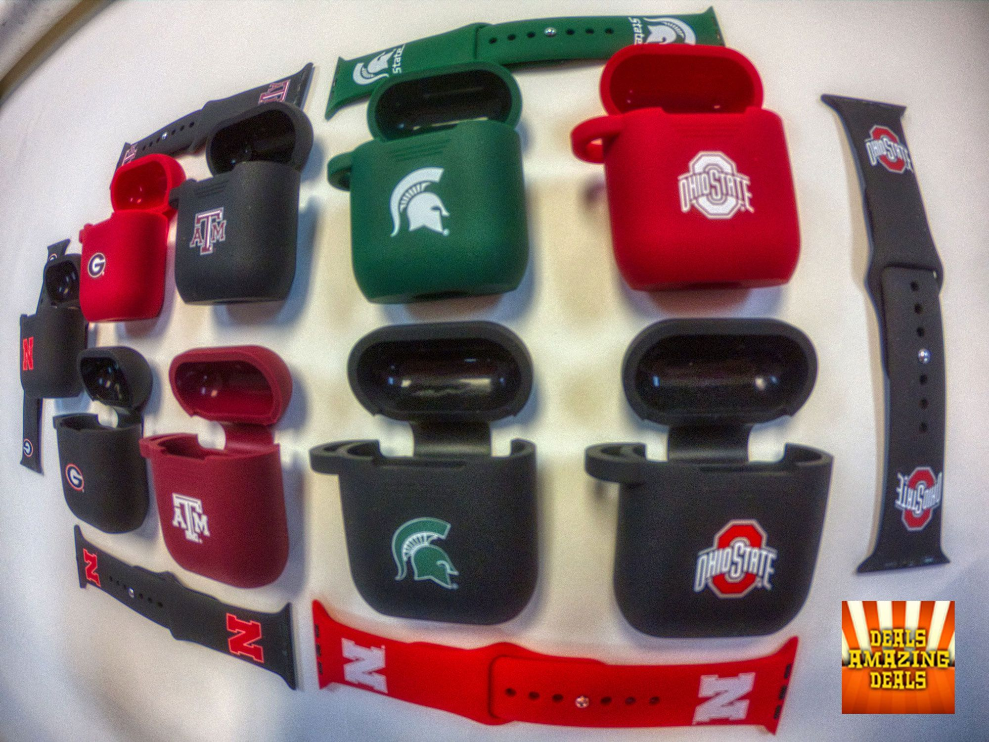 Must Have Gifts for College Sports Fans. Watchbands for