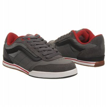 631892184b Vans Wylie Shoes (Pewter Black Red) - Men s Shoes - 7.5 M