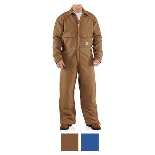 #Carhartt Flame Resistant Duck Coverall - Quilt Lined