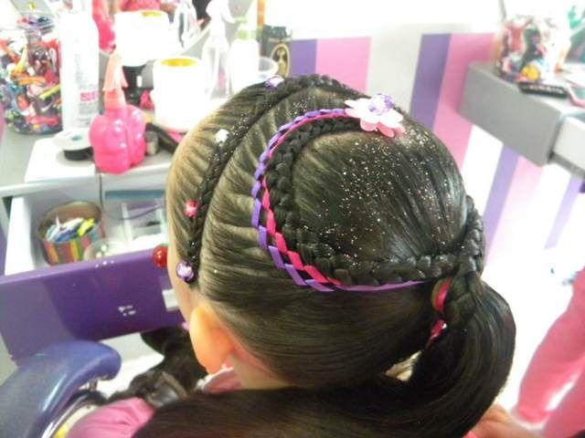 Preciosos Peinados Infantiles Ideas Locas Fiesta De Cumpleanos