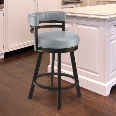 Red Barrel Studio Homan Bar Counter Swivel Bar Stool Seat Height