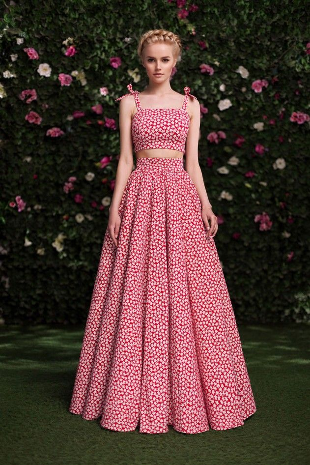Комплект «Айседора» красный — 19 990 рублей | Gowns | Pinterest ...