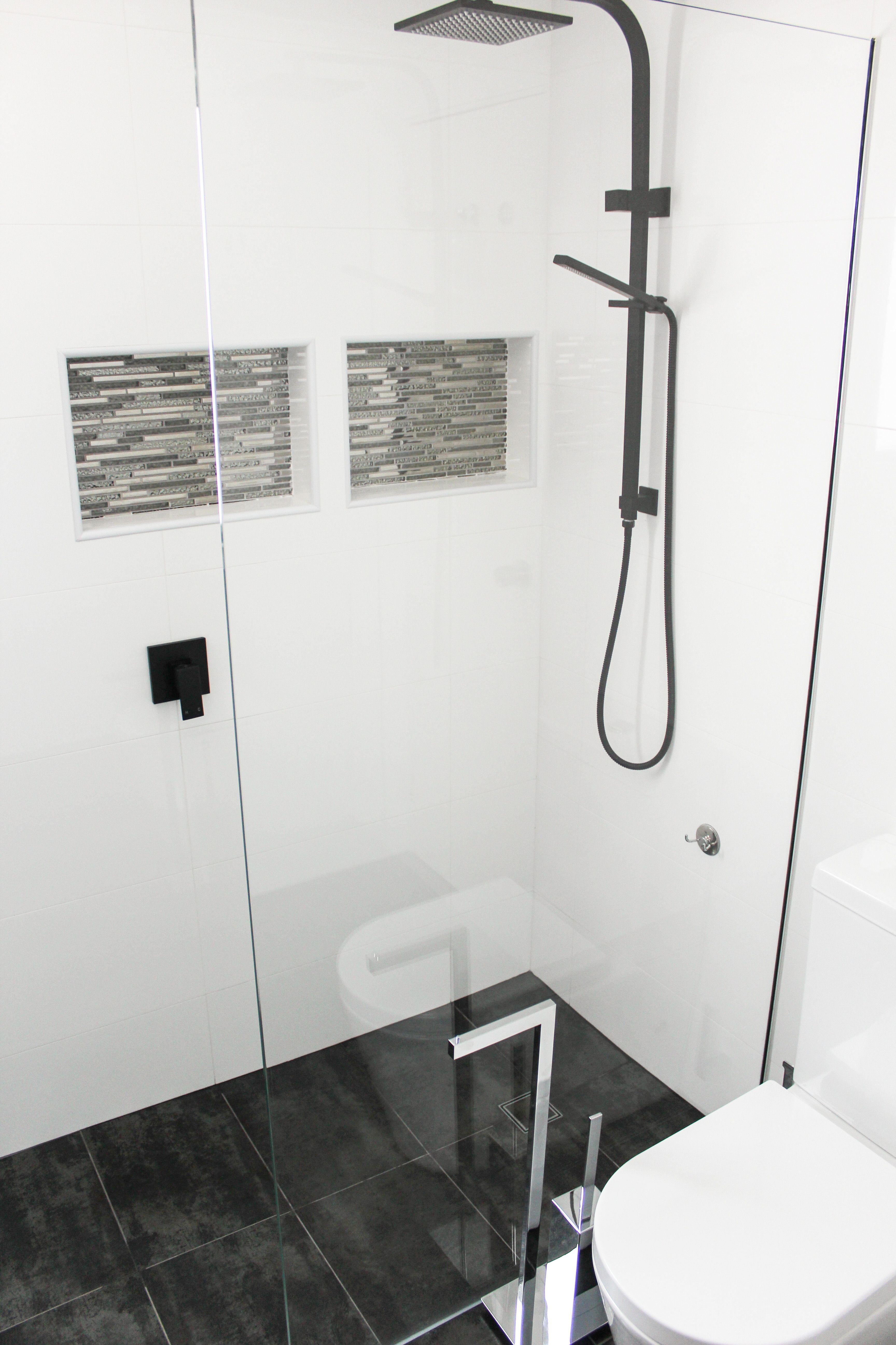 Black Tapware Combo - Black Tapware Bathroom - Shower Box - Metallic ...