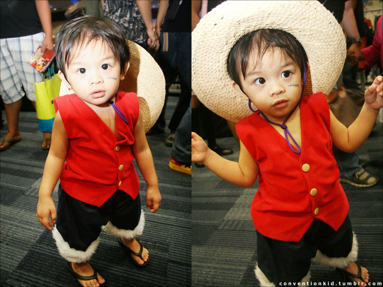 Luffy kid cosplay | Fantasias, Cosplays, Foto criativas