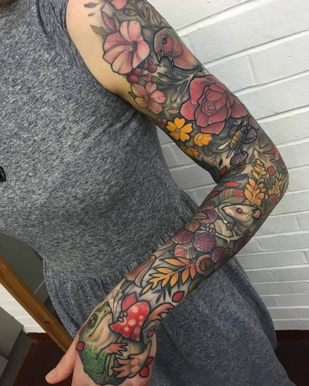 """1337tattoos """" Mitchell Allenden """" Tattoo sleeve themes"""