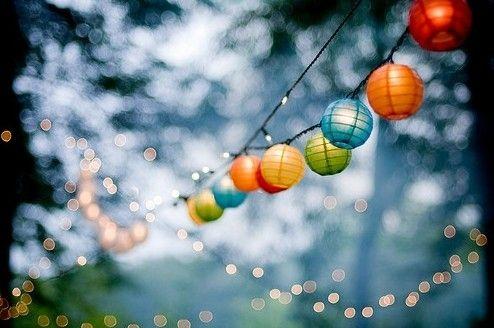 Paper lanterns by Lailah