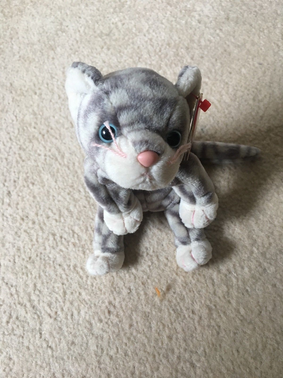 8ff12382426 TY Beanie Babies Silver the Cat
