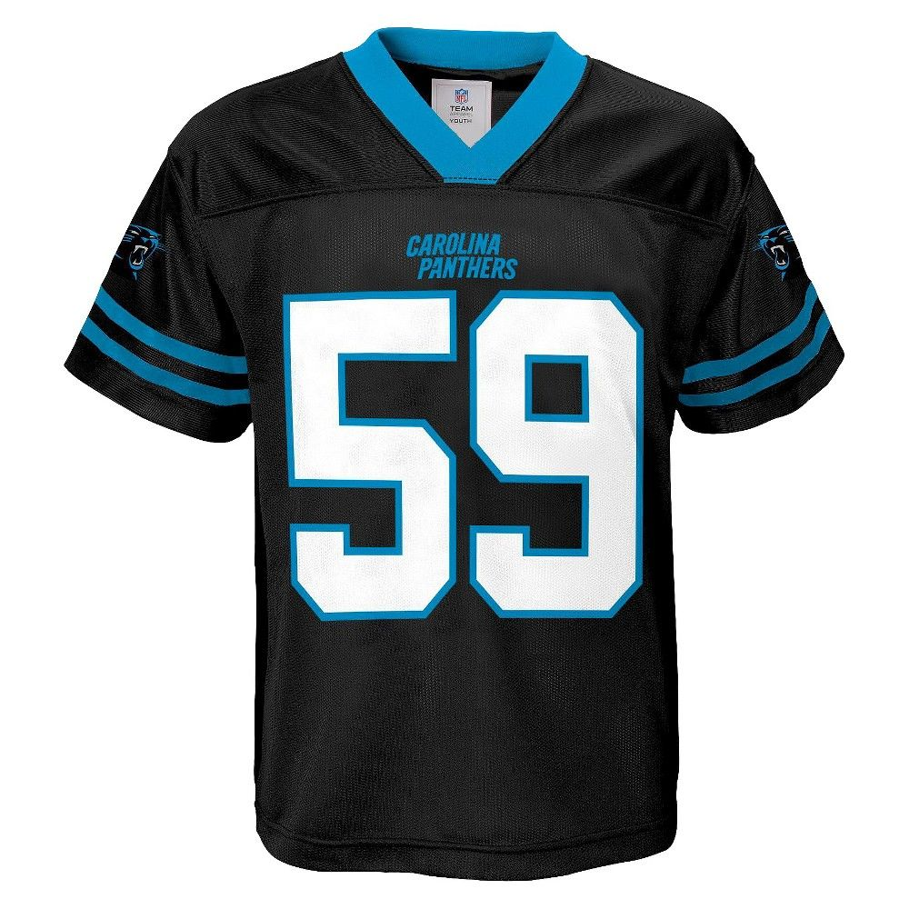 5e94616a3 Luke Kuechly Carolina Panthers Boys Player Jersey