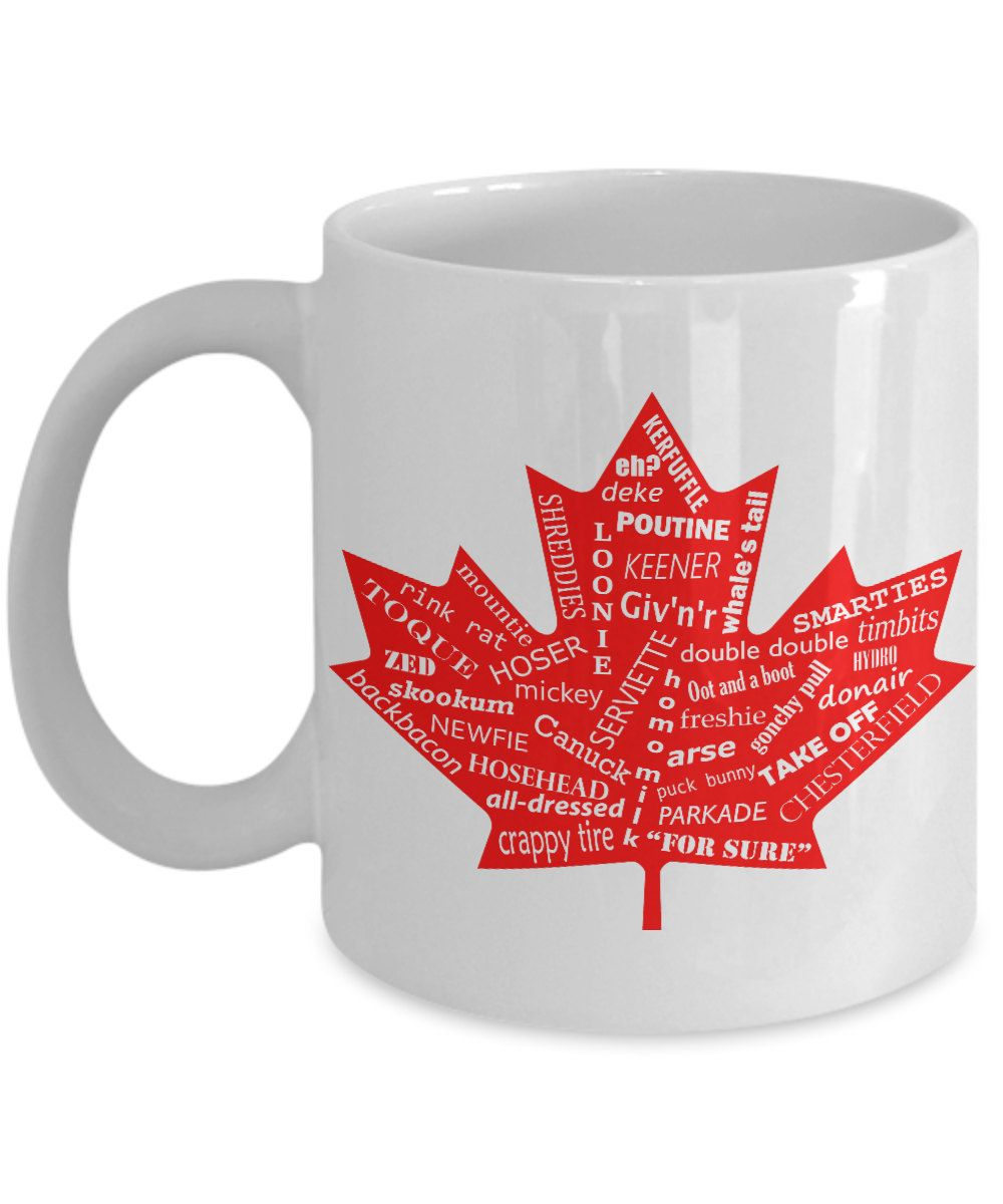 Canada Coffee Mug Canadian Mug Funny Coffee Mug