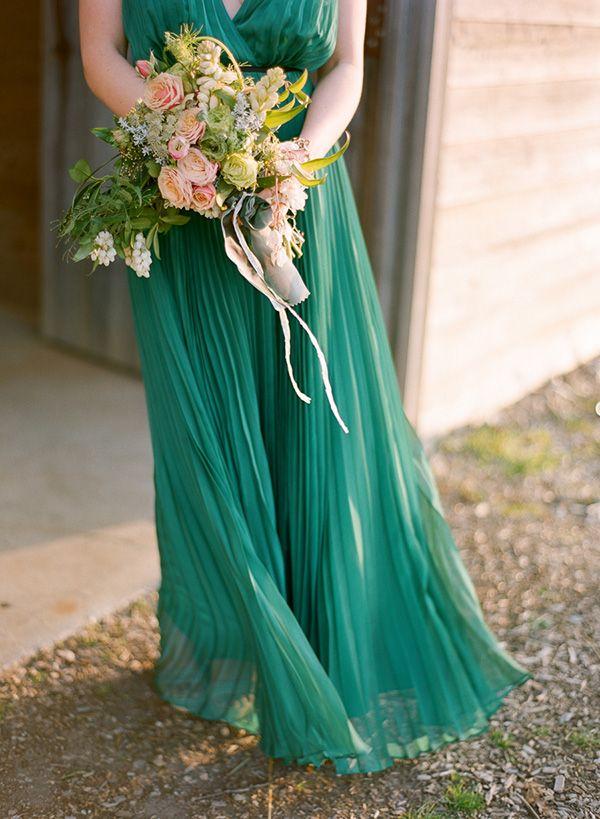 Kentucky Derby Wedding Ideas | Emeralds, Emerald bridesmaid dresses ...
