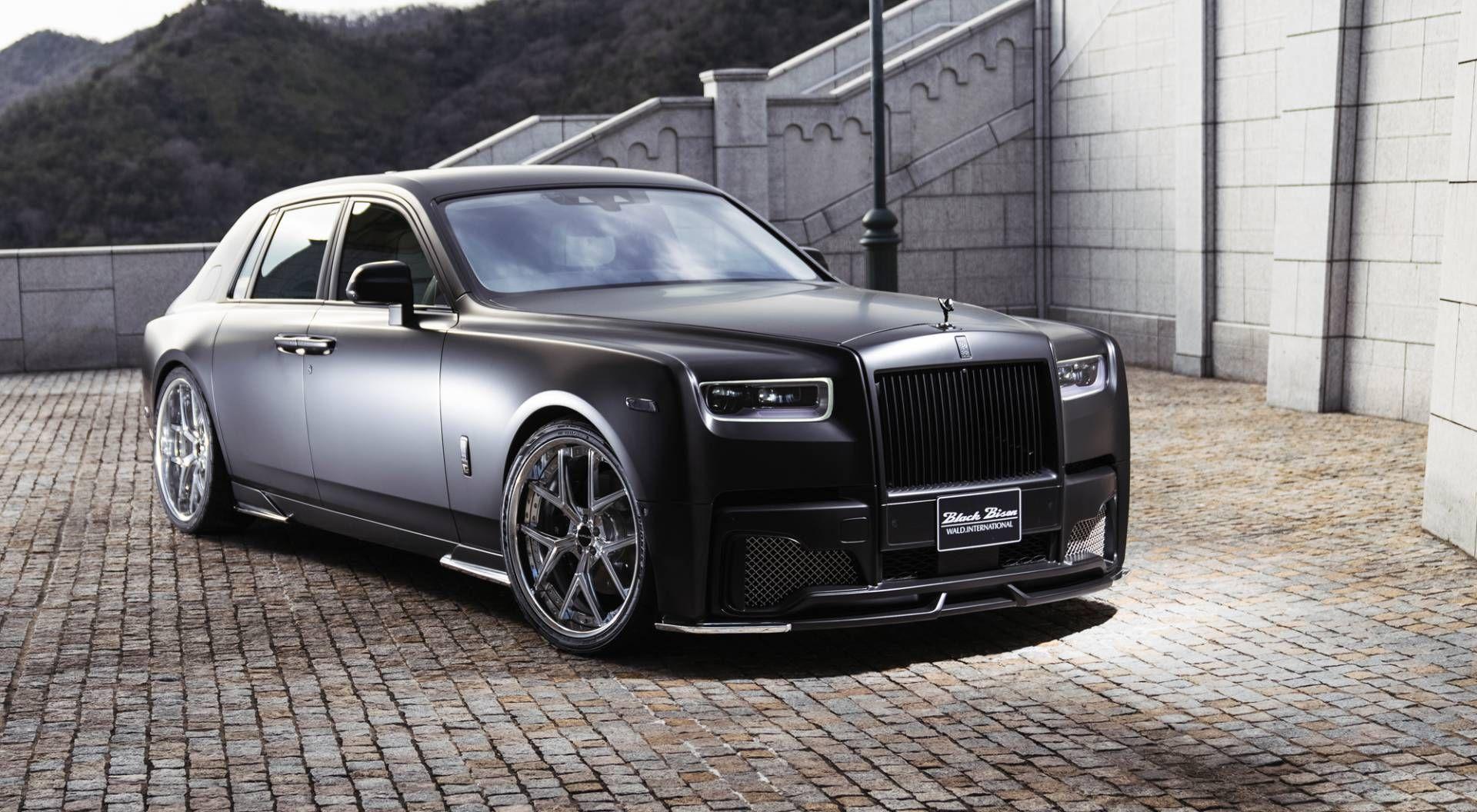 Rolls Royce Phantom Takes A Ride To The Dark Wald Side Carscoops Rolls Royce Phantom Rolls Royce Royce