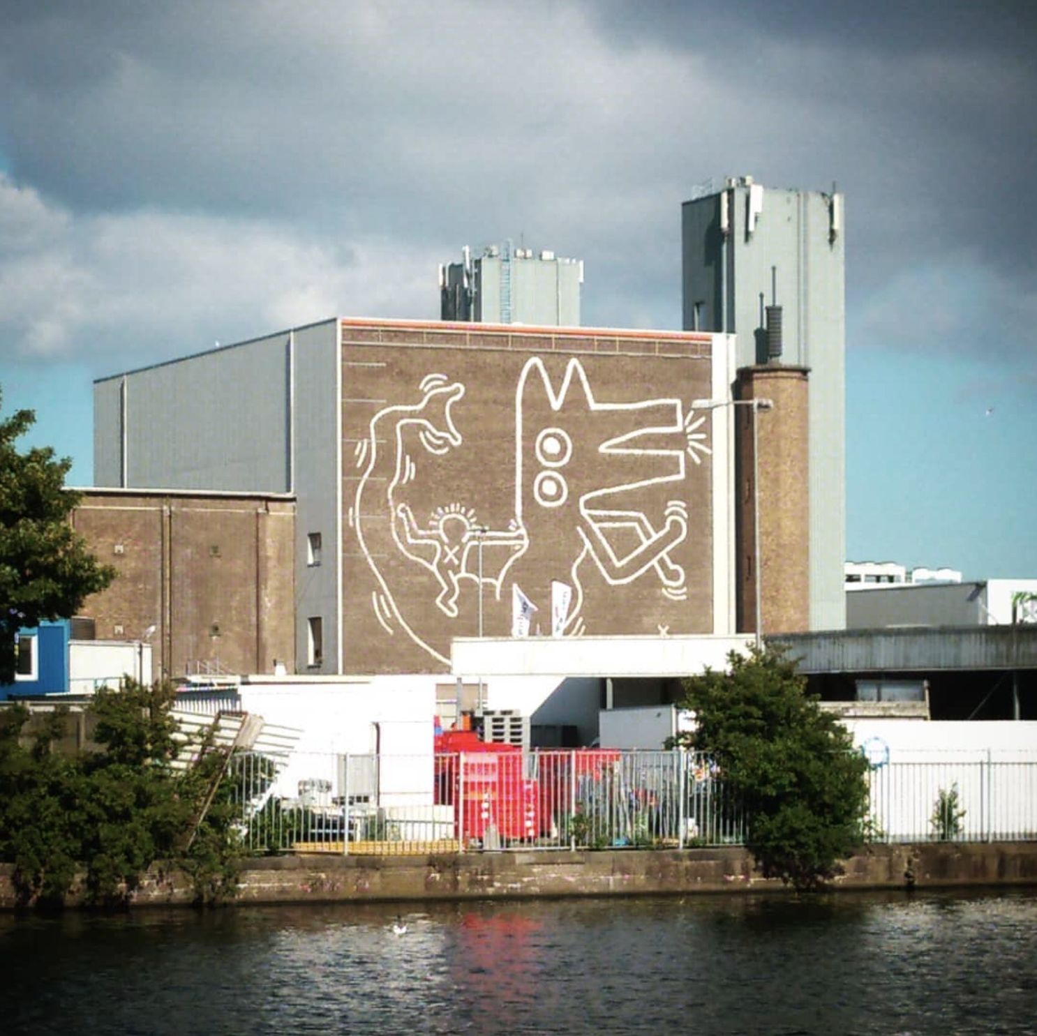 Keith Haring Mural Painted In Has Been Uncovered In