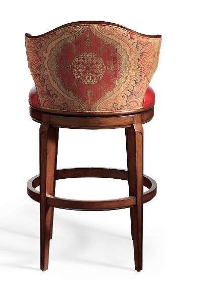 nicholson low back bar stool  frontgate  bar stools