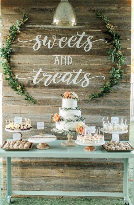Beste Hochzeitsfeier Hintergrund Braut Tisch Süßigkeiten 32+ Ideen   – Wedding Ideas.